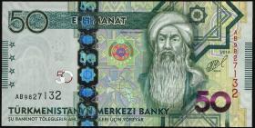 Turkmenistan P.33 50 Manat 2014 (1)