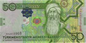 Turkmenistan P.26 50 Manat 2009 (1-)