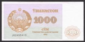 Usbekistan / Uzbekistan P.70 1000 Sum 1992 (2)