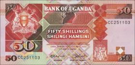 Uganda P.30a 50 Shillings 1987 (1)