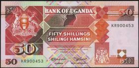 Uganda P.30b 50 Shillings 1989 (1)