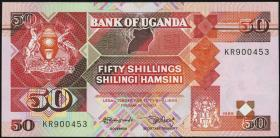Uganda P.30b 50 Schillings 1988/89 (1)