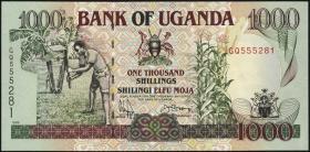 Uganda P.36b 1000 Schillings 1996 (1)