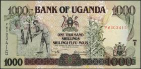 Uganda P.39b 1000 Schillings 2003 (1)