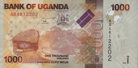 Uganda P.49 1000 Shillings 2010 (1)