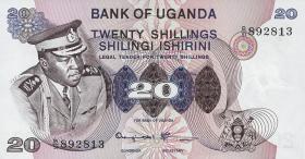 Uganda P.07c 20 Schillings (1973) (1)