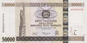 Uganda P.47a 50000 Shillings 2003