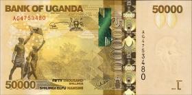 Uganda P.54b 50000 Shillings 2013 (1)