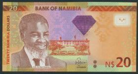 Namibia P.12b 20 Namibia Dollars 2013 (1)