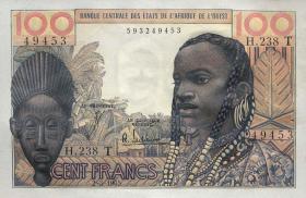 Togo P.801Te 100 Francs 1965 (1)