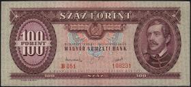 Ungarn / Hungary P.166 100 Forint 1949 (2+)