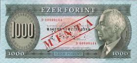 Ungarn / Hungary P.173s 1000 Forint 1983 Specimen (1)