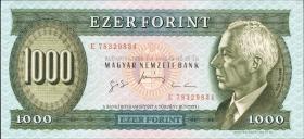 Ungarn / Hungary P.176c 1000 Forint 1996 (1)