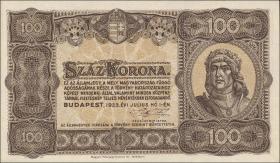 Ungarn / Hungary P.073 100 Kronen 1923 (1)