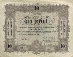 Ungarn / Hungary P.S117 10 Forint 1848 (3)