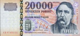 Ungarn / Hungary P.201b 20000 Forint 2009  (1)