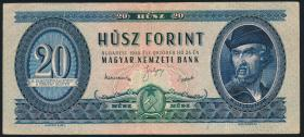 Ungarn / Hungary P.165 20 Forint 1949 (3)