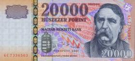 Ungarn / Hungary P.193d 20000 Forint 2007 (1)