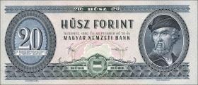 Ungarn / Hungary P.169g 20 Forint 1980 (1)