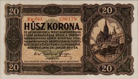 Ungarn / Hungary P.061 20 Kronen 1920 (1)