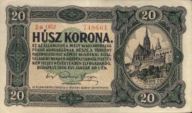 Ungarn / Hungary P.061 20 Kronen 1920 (2)