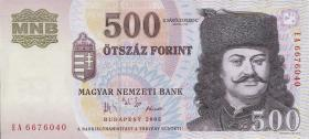 Ungarn / Hungary P.188d 500 Forint 2005 (1)