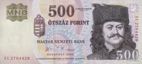 Ungarn / Hungary P.188e 500 Forint 2006 (1)