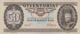 Ungarn / Hungary P.170c 50 Forint 1975 (1)