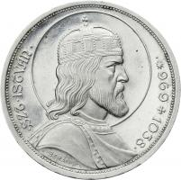 Ungarn 5 Pengö 1938 Hl. Stephan (Silber)