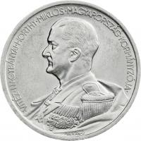 Ungarn 5 Pengö 1939 Admiral Horthy (Silber)