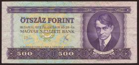 Ungarn / Hungary P.172b 500 Forint 1975 (3)