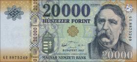 Ungarn / Hungary P.203c 20000 Forint 2017 (1)