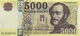 Ungarn / Hungary 5000 Forint 2020 (1)