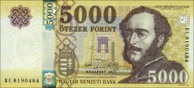 Ungarn / Hungary P.neu 5000 Forint 2017 (1)