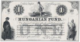 Ungarn / Hungary P.S136r 1 Dollar 1852 (1)