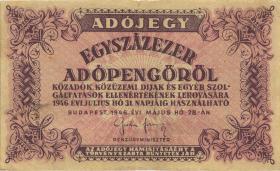 Ungarn / Hungary P.144b 100.000 Adopengö 1946 (3)
