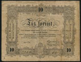 Ungarn / Hungary P.S117 10 Forint 1848 (3-)