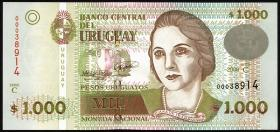 Uruguay P.91b 1000 Pesos 2008 (1)