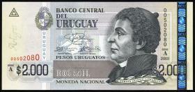 Uruguay P.92 2000 Pesos 2003 (1)
