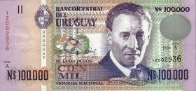 Uruguay P.71a 100.000 Pesos 1991 (1)