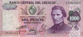 Uruguay P.52 1000 Pesos (1974) (1)