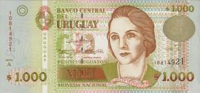 Uruguay P.79a 1000 Pesos 1995 (1)