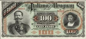 Uruguay P.S215 100 Pesos 1887 (1)