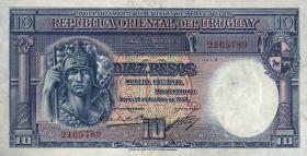 Uruguay P.30 10 Pesos 1935 (1)