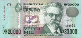 Uruguay P.69b 20000 Pesos 1991 (1)