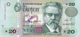 Uruguay P.83 20 Pesos 2000 (1)