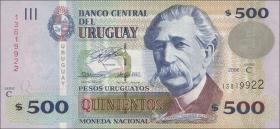 Uruguay P.90a 500 Pesos 2006 (1)