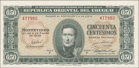Uruguay P.34 50 Centesimos 1935 (1)