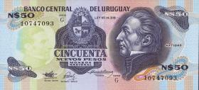 Uruguay P.61A 50 Nuevos Pesos (1989) (1)