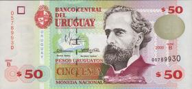 Uruguay P.75b 50 Pesos 2000 (1)
